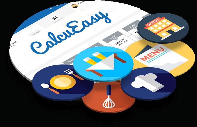 CalcuEasy er udviklet til alle restaurationsvirksomheder i branchen. Det betyder, at både små som store restauranter kan anvende det. Ligeledes kan caféer, kantiner, cafeterier også gøre brug af CalcuEasy